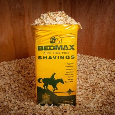 Bedmax Dust Free Shavings Horse Bedding