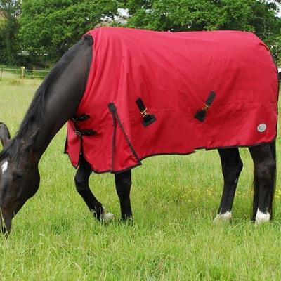 Rhinegold Konig Standard Turnout 200gsm Red horse rug