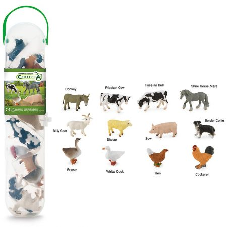 CollectA Farm Animals 12 piece set