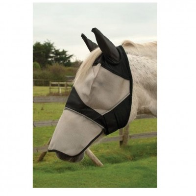 Rhinegold Fly Mask With Ears And Nose
