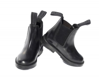 Rhinegold Jodhpur Boots Childs - Black