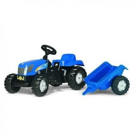New Holland TVT 190 Kids Tractor & Trailer