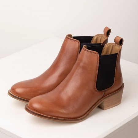 Rydale Ladies Heeled Leather Chelsea Boots