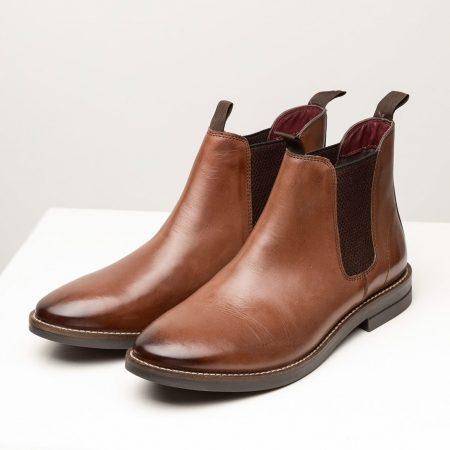 Rydale Men's Kiplin III Leather Chelsea Boots