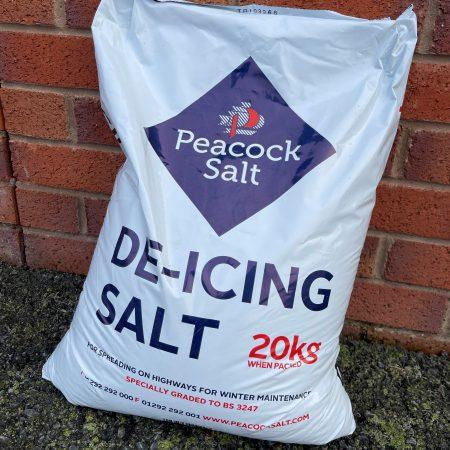 White De-Icing Salt 20kg