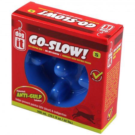 Dogit Go-Slow! Anti-Gulping Dog Dish