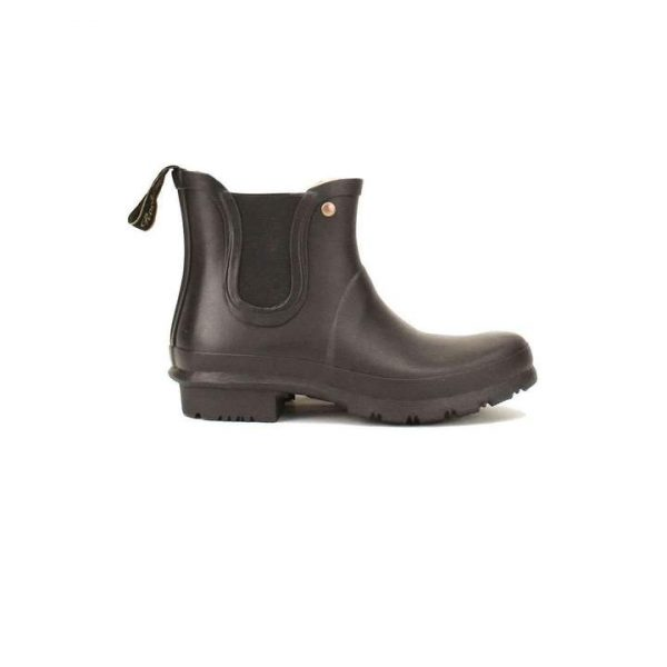 Rockfish Women's Chelsea Wellington Boot - Black