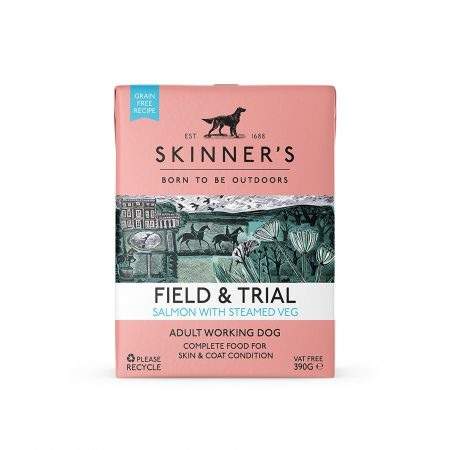 Skinners Field & Trial Salmon With Steamed Veg