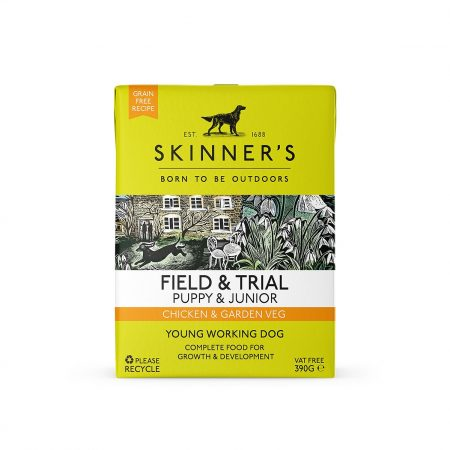 Skinners Field & Trial Puppy and Junior Wet Food