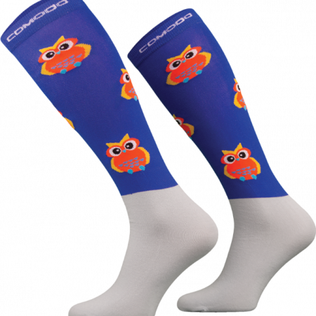 Comdo Novelty Socks Owl Royal