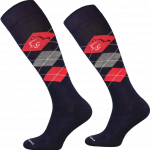 Platinum Anti-Tick Socks Black