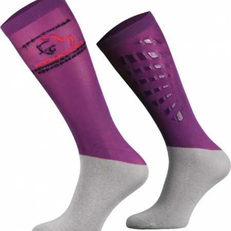 Comodo Silicone Grip Socks Purple