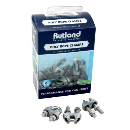 Rutland Poly Post Clamps x5