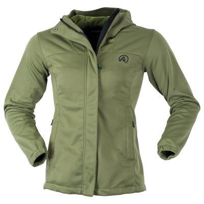 Ridgeline Ladies Ascent Softshell Jacket Olive