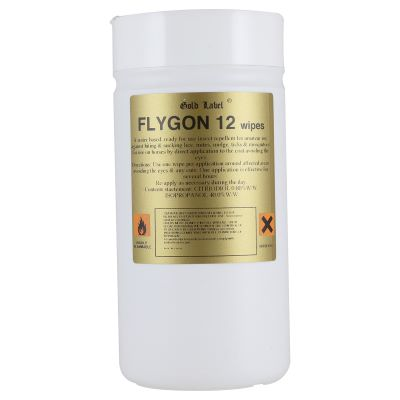Gold Label Flygon 12 Wipes – 100 Pack