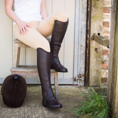 JustChaps Saltos Leather Gaiter (Adult)