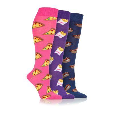 Platinum Fast Food Long Socks