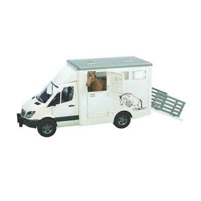 Bruder MB Sprinter Horsebox Transporter