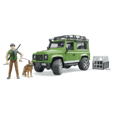 Land Rover Defender with Forester