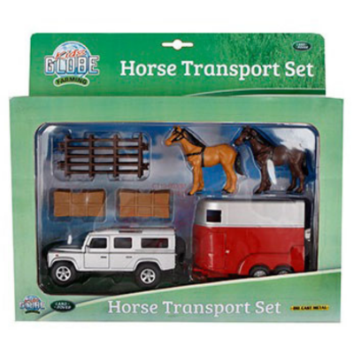 Land Rover & Horse Trailer with Accessories