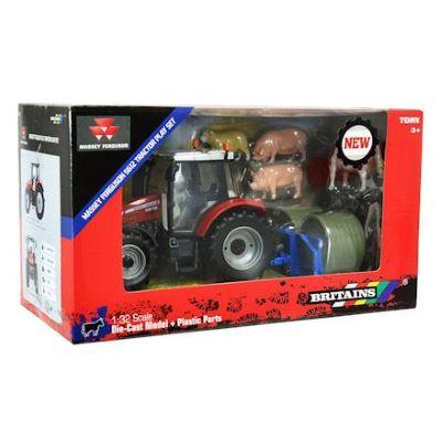 Massey Ferguson 5612 Tractor Playset