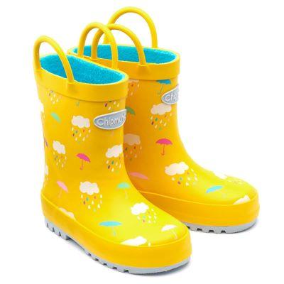 Chipmunks Yellow Rain Wellies